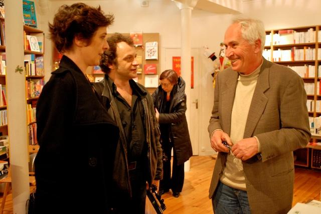 Hélène Lausseur, Eric Herson-Macarel et Paol Keineg