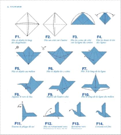 des oiseaux en origami pour les 5 ans de la librairie samedi 29 novembre 2014 les oiseaux rares. Black Bedroom Furniture Sets. Home Design Ideas